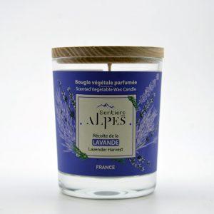 Bougie végétale parfumée - lavande