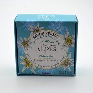 Savons naturel végétal Edelweiss