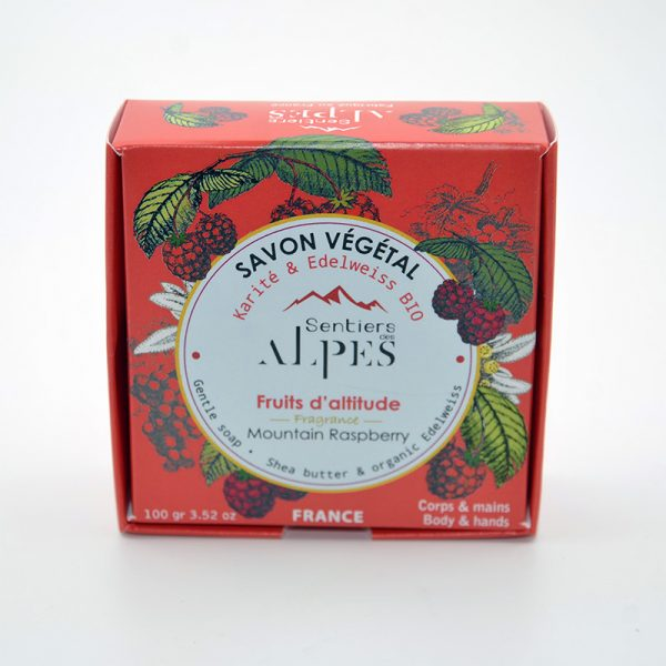 Savons naturel végétal Fruits d'altitude